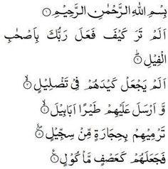 Herhangi bir isteğin olması için;önce istenilen şeye niyet edilir. Sırayla aşağıdaki sureler okunur. 3 defa okunacak: 1. İza zülziletil erdu …