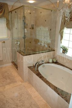 master bathroom ideas photo gallery | Master Bath Shower - Houston Interior Design Firm, BK Design ...