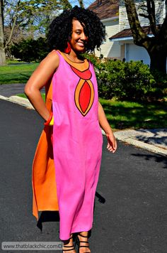 Color-Blocking like a Boss! [Sew What Series Simplicity Dress Pattern 8094] #simplicitypattern