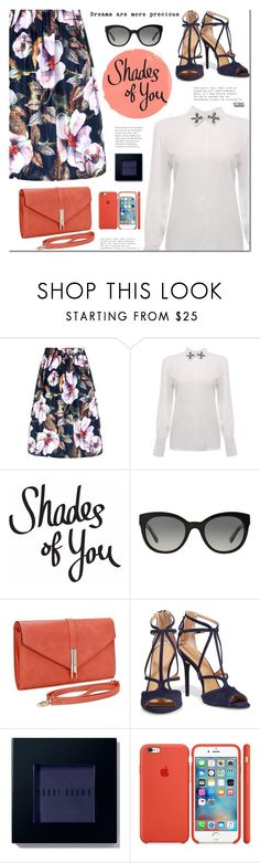 """Shades of You"" by mada-malureanu ❤ liked on Polyvore featuring Burberry, Halston Heritage, Bobbi Brown Cosmetics and shadesofyou"