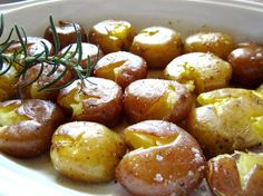 Buttery Roasted Crushed Potatoes