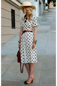 Oh! Polka dots! Look, @Christina Childress Childress Childress Childress & Lindamood || Foodie with Family