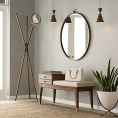 New Ideas For Apartment Entryway Design Coat Racks Entryway Mirror, Entryway Bench Storage, Modern Entryway, Entryway Decor, Drawer Storage, Entry Bench, Entryway Ideas, Hallway Bench, Entrance Ideas