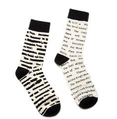 A pair of banned book socks to show the ~edgy~ side of an English major. | 26 Gifts All English Majors Will Love