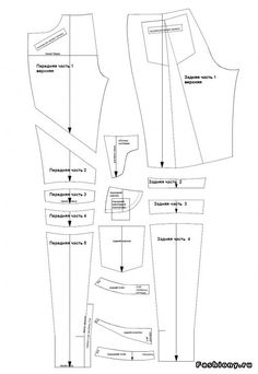 how to make pants pattern