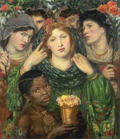 Dante Gabriel Rossetti The Beloved ('The Bride') 1865-6