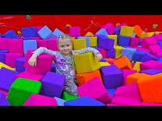 Indoor Playground for Kids Pum Children Play Center Baby Songs, Kids Songs, Learning Colors, Kids Learning, Working With Children, Children Play, Five Little Monkeys, Kids Indoor Playground, Puppy Birthday Parties