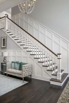 Home Design Stairs Staircases Ideas Paint Colors For Home, Home, Staircase Makeover, House Design, Home Remodeling, House Stairs, New Homes, House Interior, Home Renovation