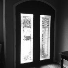 Double 8 0 PlastPro Fiberglass #door With #Paris Glass And Custom Transom By