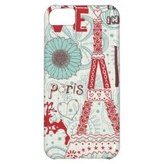 Paris 5c phone case