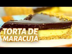 Torta de maracujá com chocolate fácil - Marola com Carambola