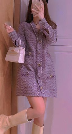 Dress Outfits, Fall Outfits, Dress Up, Fashion Outfits, Look Rose, Classy Wear, Seductive Women, Long Cocktail Dress, Ulzzang Fashion
