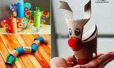 36 animaux à fabriquer avec vos enfants en recyclant des rouleaux de papier toilette