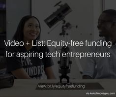 In this blog post, I share info on how to get equity-free seed funding for your business idea or startup. I also share a list of accelerators around the world to help you get started on your journe…