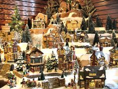 18 Best Miniature Christmas Village Images Christmas Villages