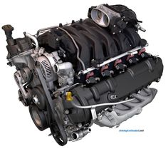 """Ford 6.8 SOHC V-10, """"Triton"""". This production engine is used in a Class A motorhome chassis."""