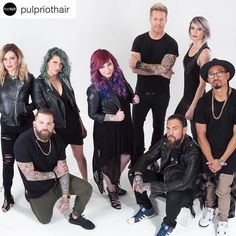 I am so grateful to be able to finally share with you guys @pulpriothair. So many amazing things are coming. Will you be apart of the movement?   Meet the ownership team behind the new Pulp Riot color company.  Pulp Riot is far more than our team... And it's more than the superior products we have formulated with our own hands... It's a unique movement where there are zero degrees of separation between artists that create products and the artists that use the products to create masterpieces…