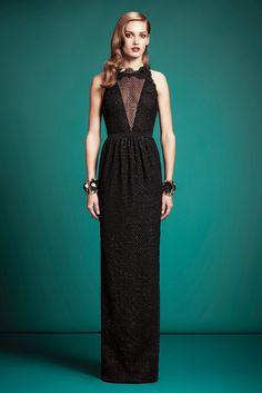 Gucci Pre-Fall 2013 Fashion Show - Karmen Pedaru