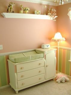 Image Result For Vertical Stripes In Nursery Below Chair