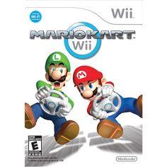 Mario Kart - Game Only (Nintendo Wii) (265 SEK) ❤ liked on Polyvore featuring nintendo wii and nintendo wii games