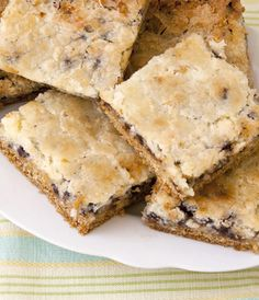Chocolate Chip Chess Bars