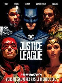 Justice League - Vendredi 9 mars