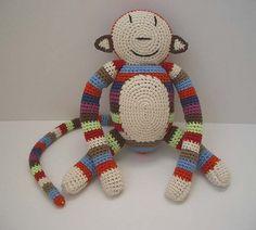 Anne Claire Petit crochet monkey