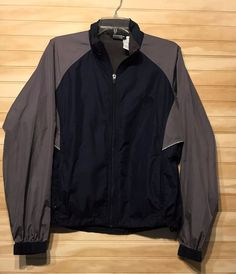 the North Face lightweight ladies large blue gray jacket packable #TheNorthFace #BasicJacket