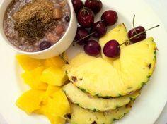 Nutritarian breakfast.