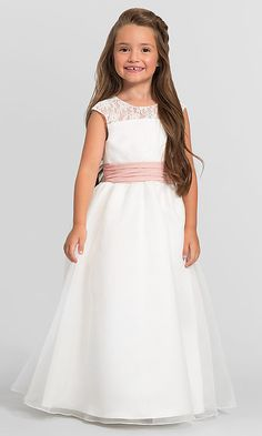 ebcfd11fae0 Bella Chiffon Bari Jay Flower Girl Dress F5716