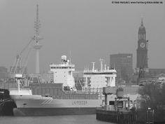 Schiff Bianca Rambow im Hamburger Hafen