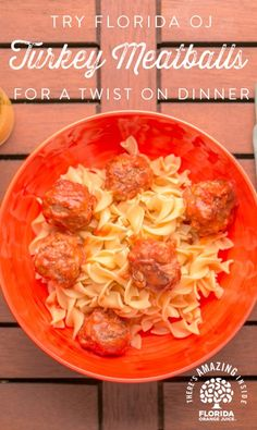 Serve as an appetizer or throw on top of pasta for a wholesome meal. Florida Orange Turkey Meatballs are #AmazingInside and delicious! Made with ground turkey, rolled oats and Florida Orange Juice, this healthy-hearty dish is sure to be a crowd favorite. Check out our website for the full recipe!