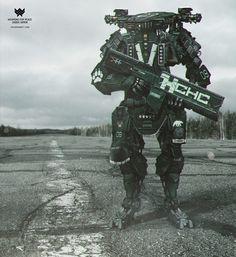 concept robots: MMCS RATNIY M09 by Valeriy Orlov