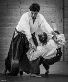 Aikidolehrgang im Budokan Wels / Oberösterreich, Mai 2014: Tenchi nage