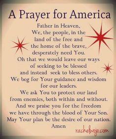 Join us in prayer at http://www.facebook.com/RevivalAmerica