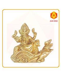 Aumzone-online Store For Religious , Spiritual And Puja Products Ganesh Idol, Ganesha, Create Online Store, Ecommerce Solutions, Spirituality, Brass, Stuff To Buy, Ganesh, Spiritual