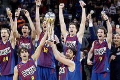 El Barcelona, campeón de la Copa del Rey de baloncesto.