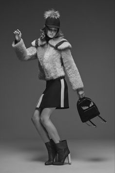Senya Hearts♥  Fendi - Pre Fall 2015 RTW   Model: Lindsey Wixson