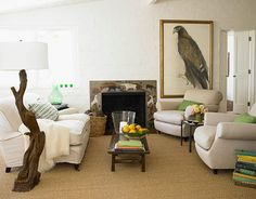 photographer Victoria Pearson's  Living Room in Ojai - Vicki is as classically beautiful and authentic as her home