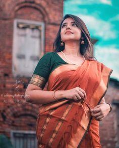 Saree Poses, Indian Girls Images, Saree Photoshoot, Saree Look, Beautiful Girl Image, Most Beautiful Indian Actress, Girl Photography Poses, Beauty Full Girl, Indian Beauty Saree