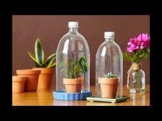 Kerajinan Tangan Dari Barang Bekas | Botol Plastik Bekas - YouTube