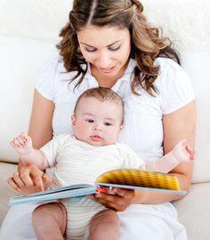 ¿Sabes cuales son los beneficios de leerle diariamente a tu bebé?  Ayuda a ampliar su vocabulario, a estimular su imaginación y a mejorar sus habilidades comunicativas.
