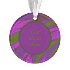 Personalized Purple Chartreuse Acrylic Ornament #zazzle #christmas #holiday #xmas http://www.zazzle.com/pd/spp/pt-aif_ornament?dz=eb9aab72-f1a6-46db-aad0-20313c45b854&clone=true&pending=true&shape=circle&design.areas=%5BacrylicIdea_ornament_circle_front%2CacrylicIdea_ornament_circle_back_back%5D&CMPN=shareicon&lang=en&social=true&view=113886491085599835&rf=238794543793195304