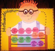 Art Strategies for math classroom-anchor-charts Math Strategies, Math Resources, Math Activities, Math Classroom, Kindergarten Math, Maths, Classroom Ideas, Preschool, Bilingual Classroom