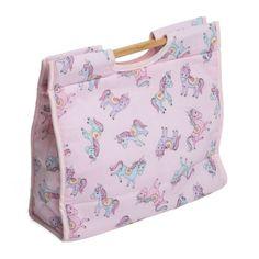 Unicorn craft/sewing bag