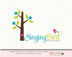 Singing Bird Photography Logo
