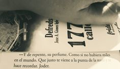 """Fragmento del libro """"1775 calles"""". Defreds."""