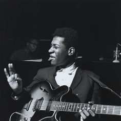 Grant Green and Herbie Hancock, 1962 (photo by Francis Wolff).