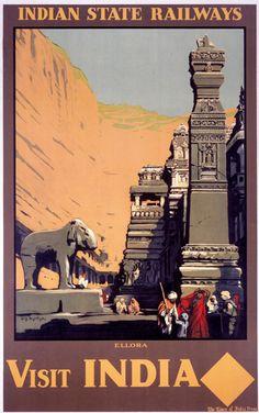 Indian State Railways - Ellora