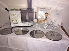 Braun Multipractic Food Processor 4259 Great Working Condition #Braun